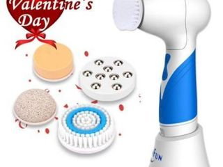 SKINFUN IPX7 Waterproof Facial Cleansing Brush Body and Face Scrubber Skin Mic