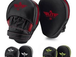 Elite Sports Boxing Punch Focus Mitts   for MMA  Kickboxing  Muay Thai Sparring