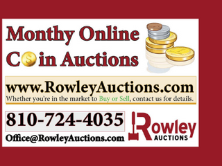 December Online Coin & Currency Auction