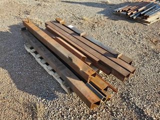 Pallet of 4  Square Tubing