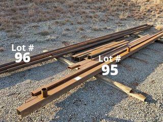 4  x 4  eleven gauge square tubing 20  long