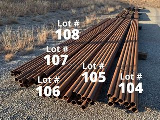 2 3 8  OD   135 Wall  32  long Pipe   9 ct