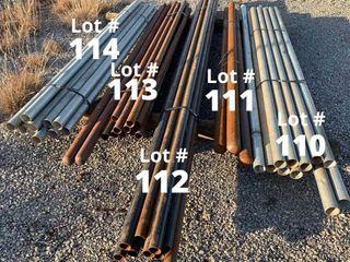 8  Galvanized Fence Post   12 ct