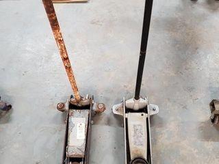 2   hydraulic floor jacks