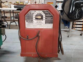 lincoln AC 225 S arc welder w  leads
