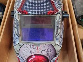 lincoln welding helmet with auto tint