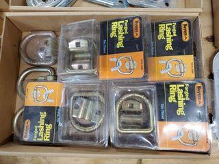 Box of trailer tie rings