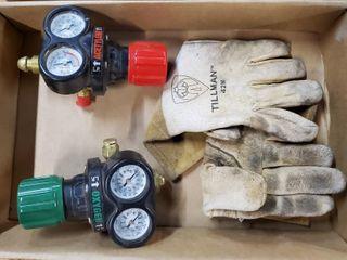 Victor oxygen   acetylene gauges