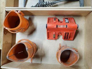 Saddle pipe templates