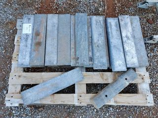 Pallet of 16 lead bars