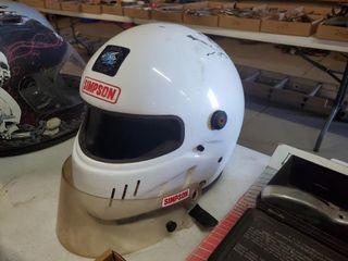 Simpson racing helmet