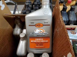 3   Case of Harley Davidson synthetic motor oil