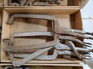 3   9  vise grip clamps