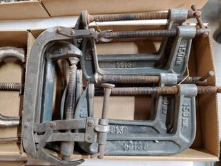 7   6  C clamps