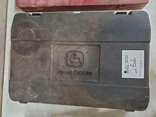 John Deere 18 volt battery operated grease gun