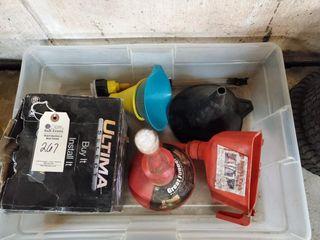 Box of funnels   an alternator