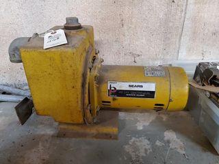 Sears 1 hp water pump