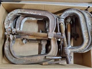 Approx  7   5    6    C clamps