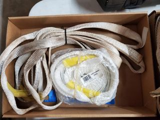 Nylon tow strap and slings