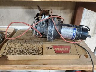 Superwench EX1   Warn ATV winch hardware kit