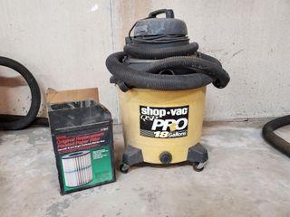 Shop Vac 6 25 hp 18 gallon vacuum