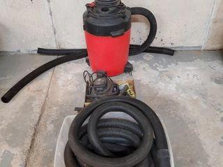 Shop Vac 6 hp 1 gallon vacuum