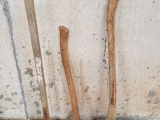 2   Axes   1 sledgehammer