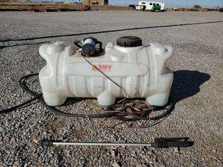 25 Gallon SMV Tank Sprayer