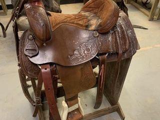lamb Western Saddle