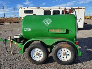 500 Gallon Diesel Trailer