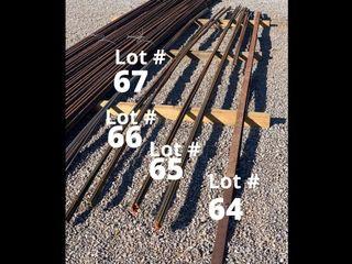 1 4  round steel rod   34 pieces