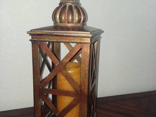 lantern Style Candle Holder with Candle