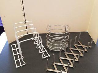 Assorted racks