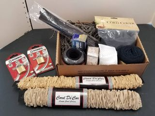 Cord covers  yarn  ribbon and locks