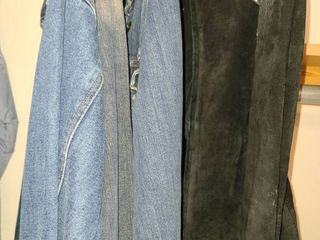 lADIES ClOTHES  4 Jackets One is a HARD ROCK CAFE  Size Small and Medium