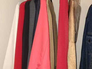 lADIES ClOTHES  Dress Jackets  7 of which are NEW YORK   CO  Sizes Small and Medium