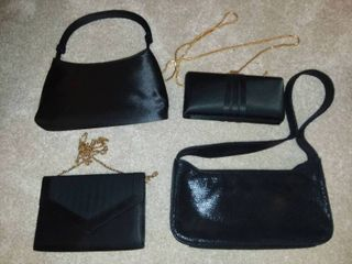 Valerie Steven s Black Evening Bags with Other Black Handbags
