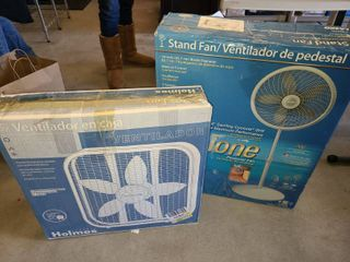 Stand and Box Fans