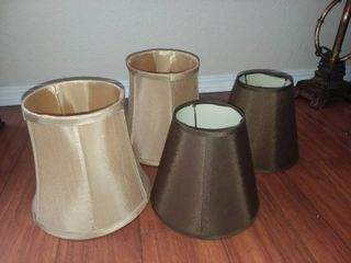 lampshades lot of 4