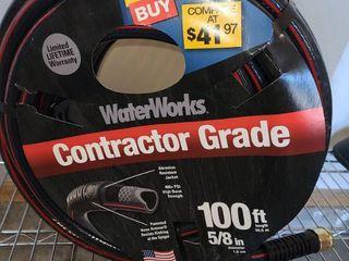 Water Works Comtractor Grade 100 FT Garden Hose New In Package