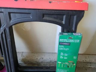 Sawhorses with Everbilt Hanging Storage System New In Box