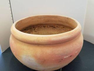 Clay flower pot 15  dia