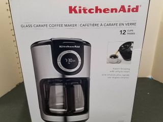 Kitchen Aid 12 cup coffee pot  new in box