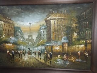 Framed Painting 43 x 31 in