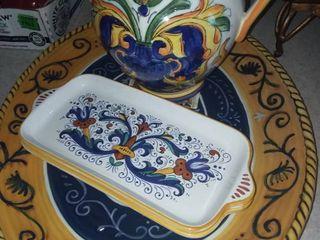 Ceramica Nova Deruta Set of 4 Pieces