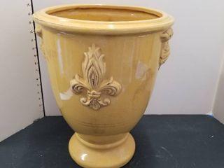Ceramic flower pot 12  dia