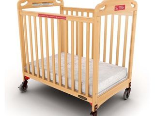 Child Craft Safe Haven Evacuation Compact Baby Crib  Retail 279 99