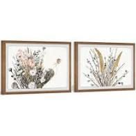 Flowering Plants Diptych  Retail 175 99