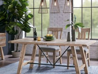 Carbon loft Dean Natural Dining Table