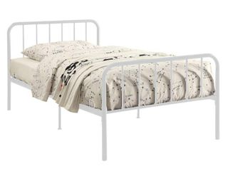 Bed in a Box  White  Size   Twin  Retail 118 69
